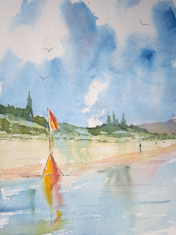 How To Paint Seascapes And Beaches In